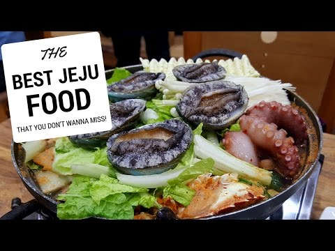 SOUTH KOREA, JEJU ISLAND FOOD TOUR TRAVEL GUIDE - TRULY THE BEST FOOD IN JEJU EP4