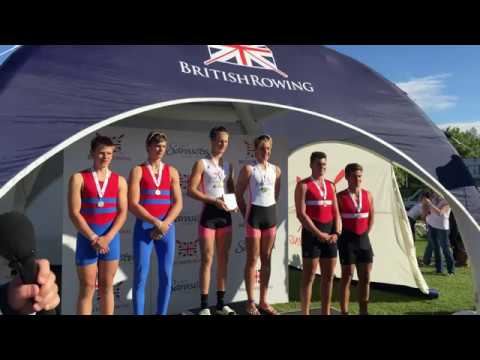 Chester le Street J18 2x Training for British Rowing Championships