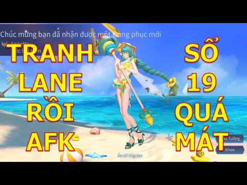 Khi đồng đội tranh lane xong AFK bạn phải làm sao với Annette Tiệc bãi biển và Full sổ mùa 19
