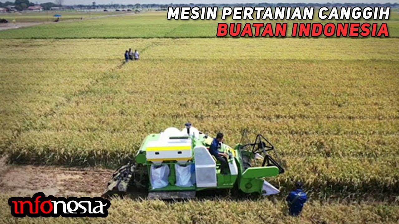 BIKIN BANGGA! Inilah Deretan Alat dan Mesin Pertanian Canggih Karya Anak Bangsa