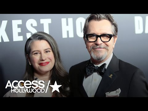 Gary Oldman Marries For The Fifth Time! | Access Hollywood
