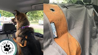 KURGO VEHICLE HAMMOCK REVIEW | How we DogProof our Truck | Car Door Guards