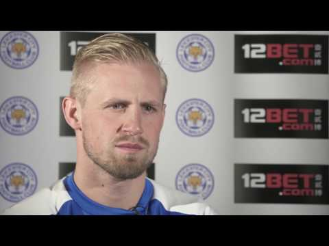 12BET Sponsored Leicester City Kasper Schmeichel Official Interview