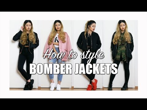 HOW TO STYLE BOMBER JACKETS | arrestthisgal