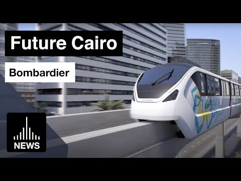 Future Cairo - Monorail System by Bombardier