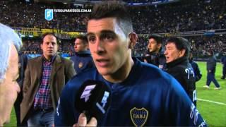 """Pavón:""""Tengo coche nuevo"""".Boca 2 River 0.Fecha 11.Torneo Primera División 2015.FPT"""