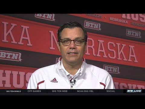 Tim Miles Interview | Nebraska | Big Ten Basketball