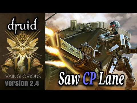 Druid | Saw CP Lane - Vainglory hero gameplay from a pro player