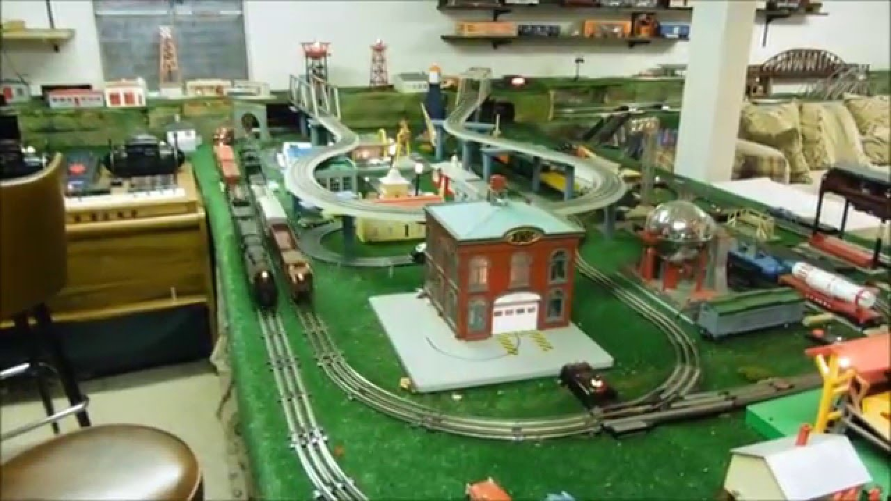 Lionel Train Layout Tour 2016 Youtube