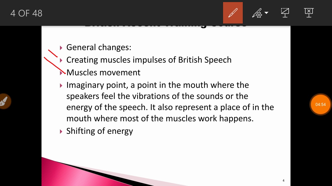 British Accent Training course part 2 in Hindi/Urdu - YouTube