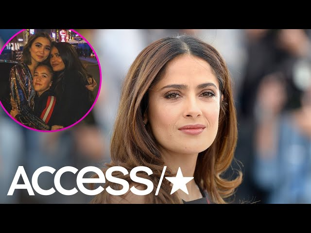 Salma Hayek Shares An Extremely Rare Photo Of Her Daughter Valentina | Access