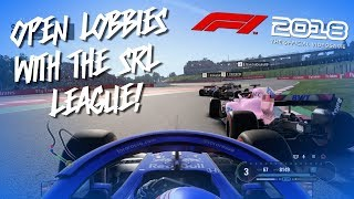 OPEN LOBBIES WITH THE SRL LEAGUE!   F1 2018 GAME ONLINE