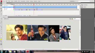Creating Pictures Banner  Flash CS6