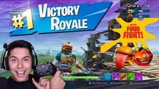 [ASMR] FORTNITE - NEW Food Fight Game Mode!