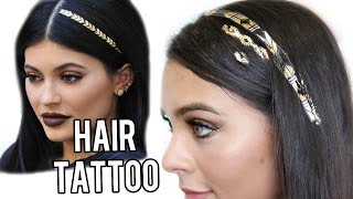 Beauty Busters: Poop or Woop? HAIR TATTOOS!