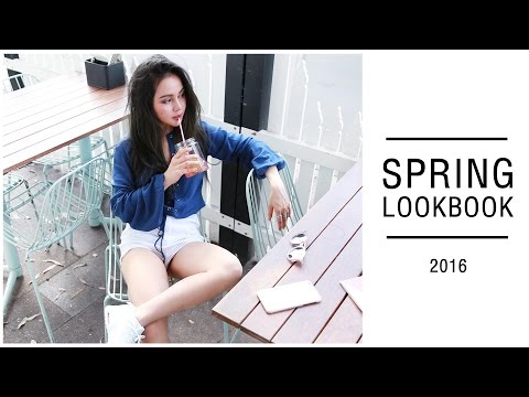 Spring Lookbook 2016 | Spring Outfits