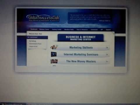 Global Success Club - How to Market on The Net as Affiliates - Legit Way of Marketing And NOT a Scam