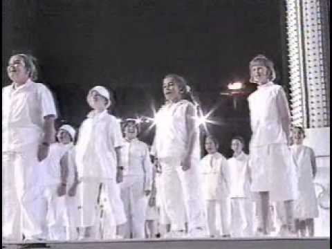 Sydney 2000 Closing Ceremony Greek & Australian Anthems