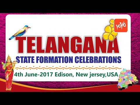 Invitation for Telangana Formation Day Celebrations at New Jersey | YOYO TV Channel