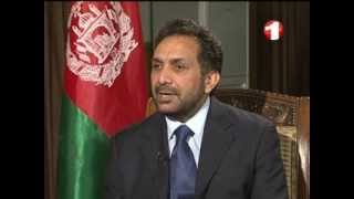 AMAJ_SPECIAL INTERVIEW WITH AHMAD ZIA MASOUD_1TV AFGHANISTAN 20 APRIL 2013