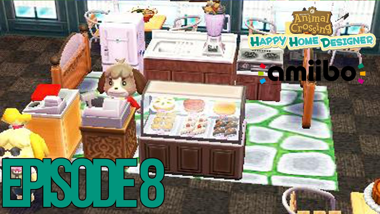 Cafe Animal Crossing Happy Home Designer