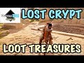 Assassin's Creed Origins - Lost Crypt Loot Treasure Location Guide