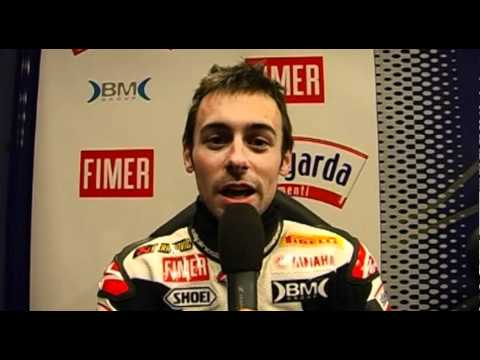 2011 Yamaha World Superbike rider Eugene Laverty about his first tests