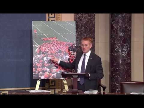 Senator Lankford Speaks about Prayer and the Freedom of Religion on the Senate Floor