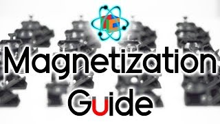 How to Magnetize a 3x3 wİth Magnet Kit