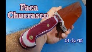 Faca Artesanal - Churrasco 01 de 03
