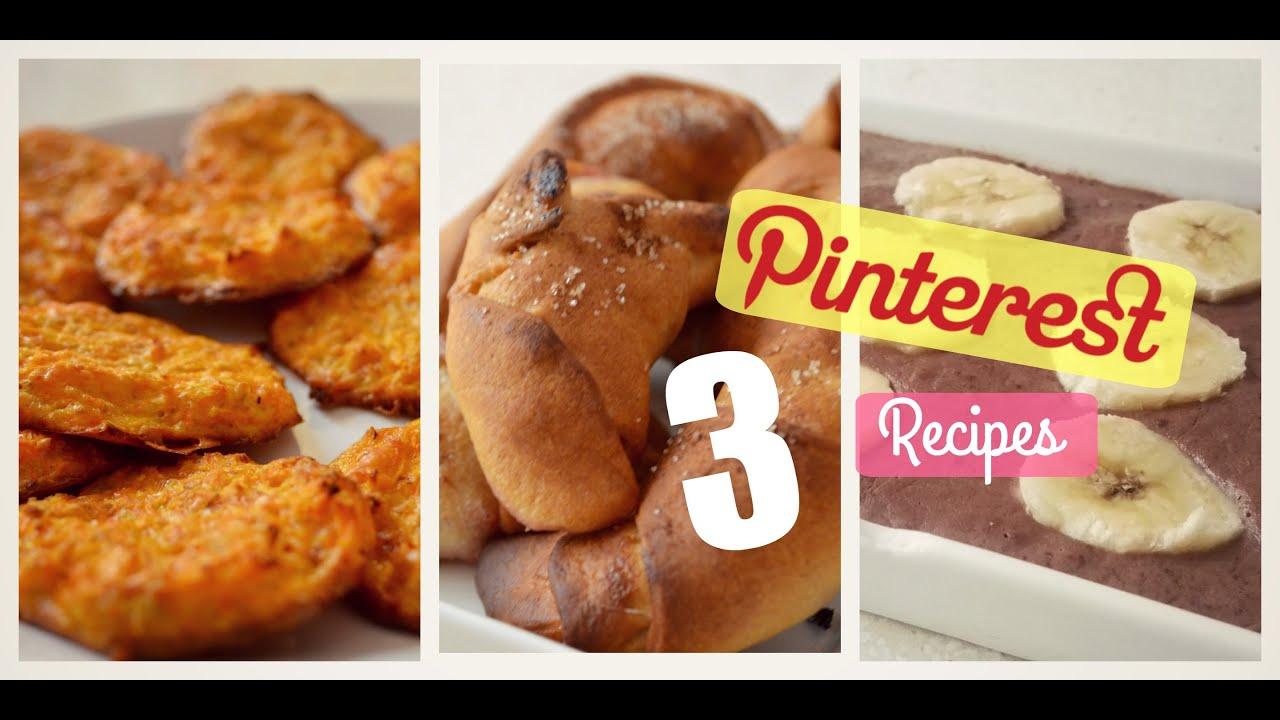 Probando 3 recetas de pinterest youtube probando 3 recetas de pinterest forumfinder Image collections