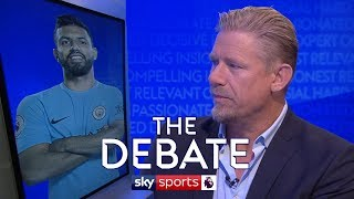 Is Sergio Aguero a Premier League great? | Peter Schmeichel & Paul Merson | The Debate