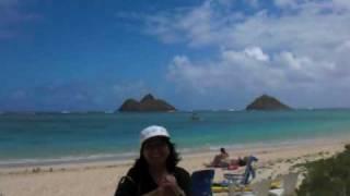 Lanikai Beach in Kailua Hawaii