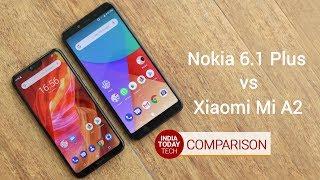 Nokia 6.1 Plus vs Xiaomi Mi A2