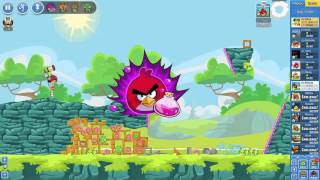 Angry Birds Friends Tournament Mania 2-3 ● LEVEL 6 ● 280 K HD ● Week 204 ●  POWER UP