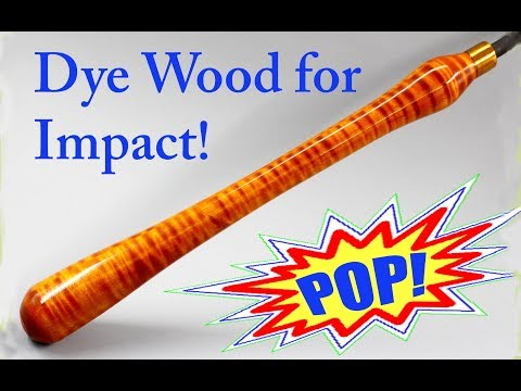 How to Dye Wood for Maximum Impact