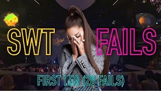 Sweetener World Tour FAILS (First leg) - Ariana Grande