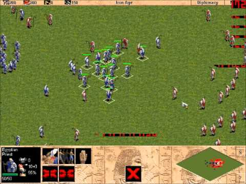 Download 100 Priests VS 100 Priests (AoE1) Wololo!