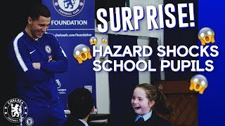 SURPRISE! #Hazard Surprises School Pupils | Didn't Expect This Reaction...😱