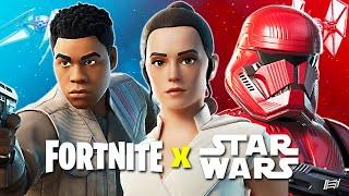 FORTNITE x STAR WARS! (Fortnite Battle Royale)