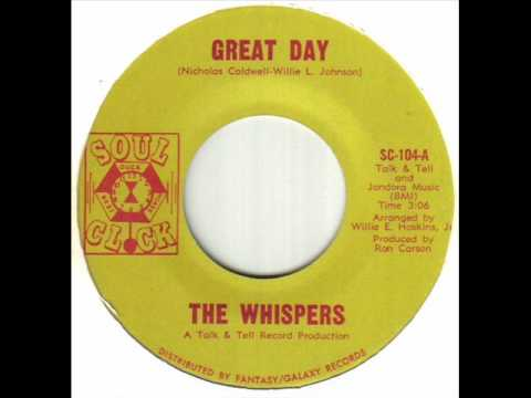 The Whispers - Great Day.wmv