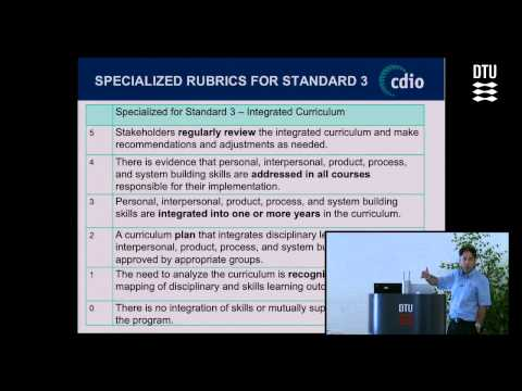 Intro Workshop: CDIO Standards for Evaluating and Change Man