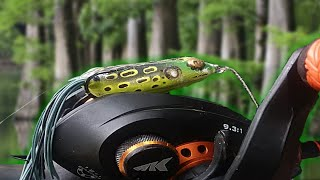 HOW to fish a Hollow Body FROG! (Best TOPWATER Bait ever?!?)