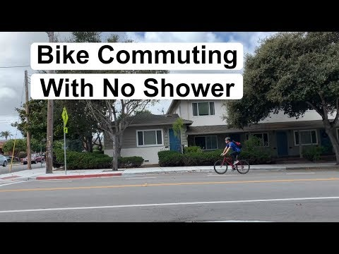 Tips for Bike Commuting with No Shower