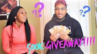 500k SPECIAL!!!!: SUPER HONEST Q&A + VISA GIFT CARD GIVEAWAY WINNERS ANNOUNCED!