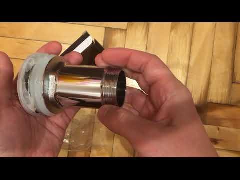 Обзор донный клапан для умывальника ALCA PLAST CLICK-CLAK из Rozetka