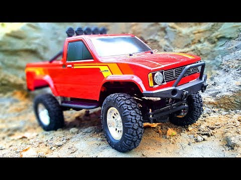 RC Truck TOYOTA HILUX 112 4x4 Thunder Tiger Review — RC Extreme Pictures