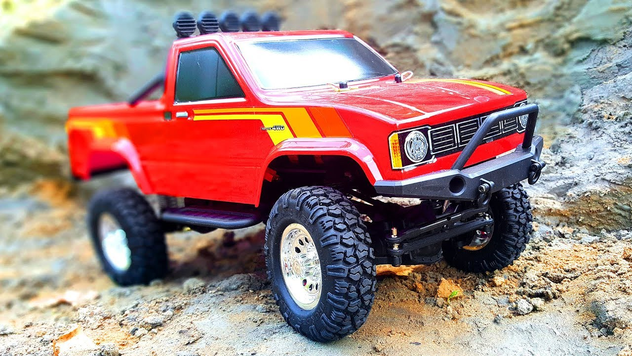 rc truck toyota hilux 112 4x4 thunder tiger review rc. Black Bedroom Furniture Sets. Home Design Ideas
