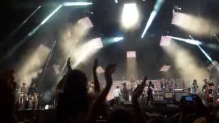 Mumford and Sons (and friends) - The Chain (Fleetwood Mac cover) at Olympic Park