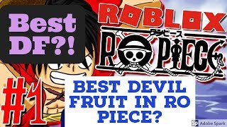 Ro-Piece| Which is the best devil fruit in Ro Piece? | Roblox